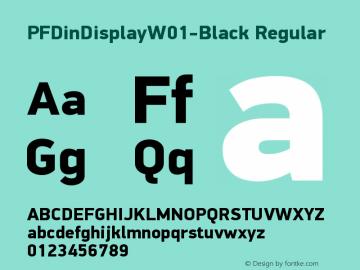 PFDinDisplay-Black