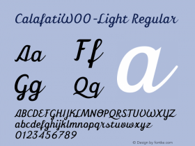 Calafati-Light