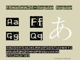 FBWallW-Regular