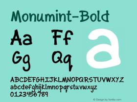 Monumint-Bold