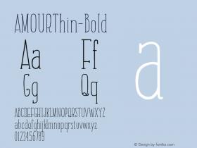 AMOURThin-Bold
