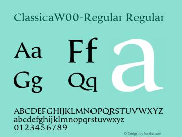 Classica-Regular
