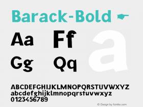 Barack-Bold
