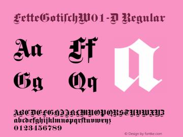 FetteGotisch-D