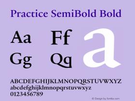 Practice SemiBold