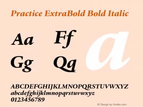 Practice ExtraBold