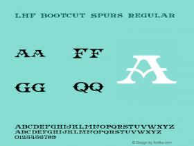 LHF Bootcut Spurs