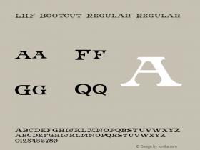 LHF Bootcut Regular