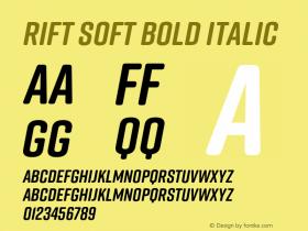 Rift Soft Bold