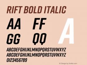 Rift Bold