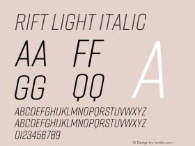 Rift Light