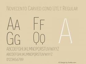 Novecento Carved cond UtLt