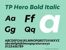TP Hero Bold