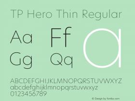 TP Hero Thin