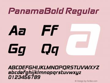 PanamaBold
