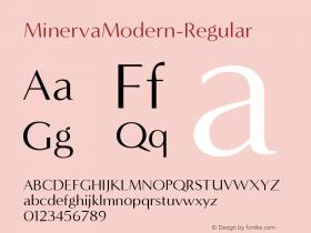 MinervaModern-Regular