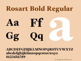 Rosart Bold