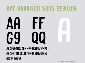 KAT Harrison Sans