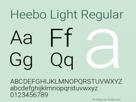 Heebo Light