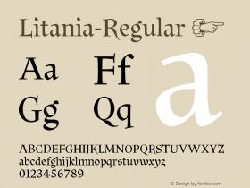 Litania-Regular