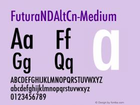 FuturaNDAltCn-Medium