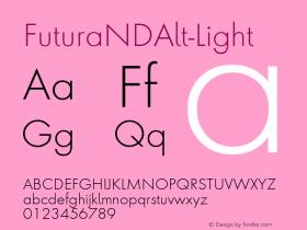 FuturaNDAlt-Light
