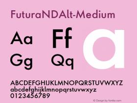 FuturaNDAlt-Medium