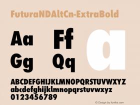 FuturaNDAltCn-ExtraBold
