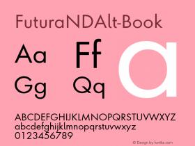FuturaNDAlt-Book