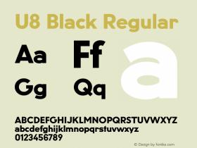 U8 Black