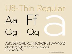 U8-Thin