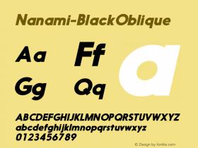 Nanami-BlackOblique