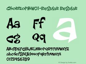 ChorizoPB-Regular