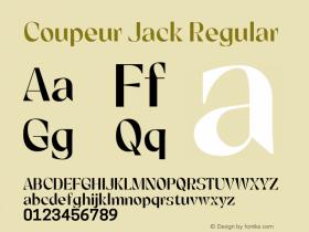 Coupeur Jack