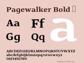 Pagewalker Bold