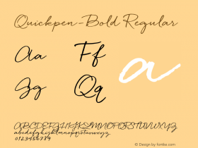 Quickpen-Bold