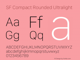 SF Compact Rounded