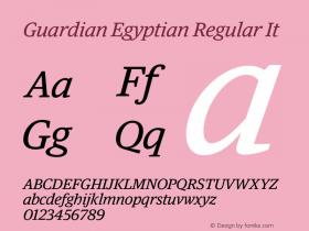 Guardian Egyptian
