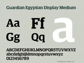 Guardian Egyptian Display