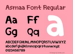 Asmaa Font