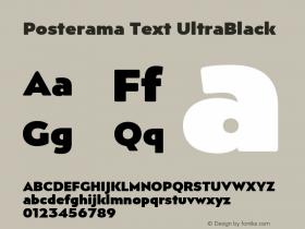 Posterama Text