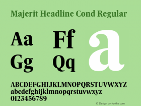 Majerit Headline Cond