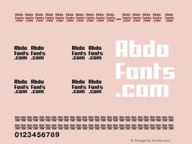 AbdoScreen-Bold