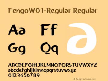 Fengo-Regular