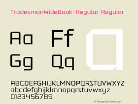 TradesmanWideBook-Regular