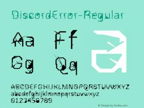 DiscordError-Regular