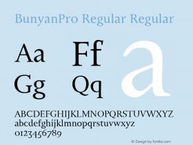 BunyanPro Regular