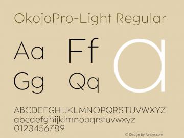 OkojoPro-Light
