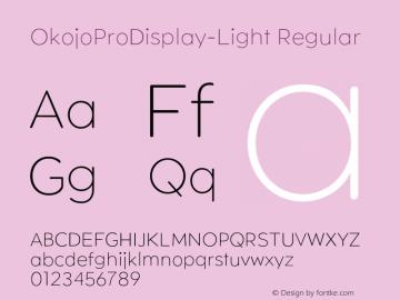 OkojoProDisplay-Light