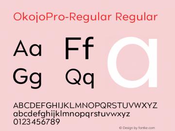 OkojoPro-Regular